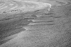 sand sculpture (fallsroad) Tags: arkansasriver tulsaoklahoma bank shore sand water river nature natural blackandwhite bw monochrome abstract