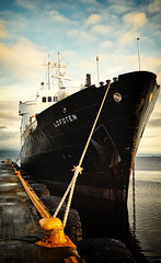 Norway - MS Lofoten (☺dannicamra☺) Tags: norway norwegen norge trondheim ship sky water mslofoten hurtigruten schiff wasser himmel nikon d5100