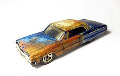 '64 Chevy Impala (Arkaitse) Tags: chevy impala hotwheels diecast custompaint rusty weathered diy
