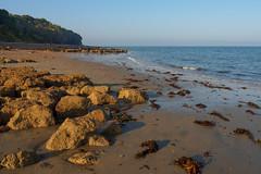 St Helens Beach-EA100660 (tony.rummery) Tags: beach em10 england eveningsun iow isleofwight landscape mft microfourthirds omd olympus rocks sea seascape sthelens unitedkingdom gb