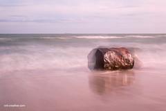 Barrel in waves (crd creative) Tags: oil barrel drum water waves beach motion landscape aberdeen scotland
