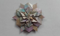Three new Monistar variations (Monika Hankova) Tags: origami stars monistar
