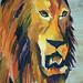 Un dessin d'un lion Dessins de lions Esquisse d'un animal Croquis d'animaux Peinture contemporaine Peintures modernes