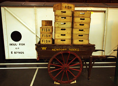 Fish Boxes & Wagon (Ravensthorpe) Tags: york rail nrm trains wagons