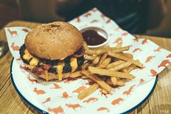 Cheese Burger (Daniel Y. Go) Tags: sony sonya7iii a7iii sonyalpha apha mirrorless sonymirrorless alphashooter danielygo food cheeseburger fries scoutshonor