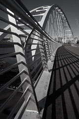 edmonton_41 (Arif Jaffer Photography) Tags: blackandwhite bw architecture bridge yeg edmonton alberta sony mirrorless a7 2470 zeis f4 lines daytime october wideangle