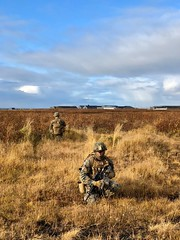 US marines land in Iceland in initial phase of exercise Trident Juncture (NATO) Tags: keflavik iceland nato otan