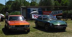 1978 Toyota Celica 1600 LT & 1975 Datsun 280Z (rvandermaar) Tags: 1975 datsun 280z s130 nissan fairlady nissanfairlady datsun280z sidecode3 import 45yb75 ra23 ta23 ta20 a20 a30 1978 toyota celica 1600 lt toyotacelica 47xv63 rvdm