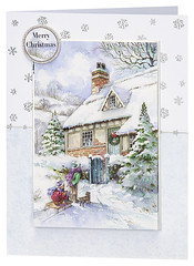 Craft Creations - Shelley170 (Craft Creations Ltd) Tags: christmas snow greetingcard craftcreations handmade cardmaking cards craft papercraft