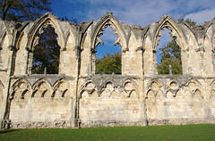 St Marys Abbey Windows (Ravensthorpe) Tags: york buildings historical ruins