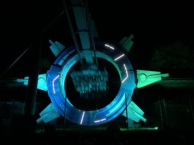 Galactica by night