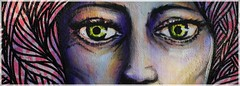 ([JBR]) Tags: wall mur pintura pared pinta painting eyes oeil yeux visage face regard streetart art de rue artderue