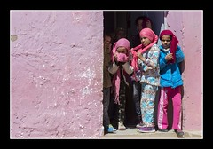 School girls (Joseph Molinari) Tags: morocco marruecos maroc marocatlasgib 4x4 raid solidarity offroad rural atlas mountain