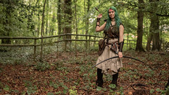 "(Lee ""Pulitzer"" Pullen) Tags: bristol nikond810 leighwoods larp liveactionroleplay empire navarr archer archery bowandarrow reenactment woods forest cosplay nikonafsnikkor70200mmf28gedvrii"