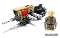 The completed built for Packet 2 (WhiteFang (Eurobricks)) Tags: lego star wars han solo story movie blockbuster spinoff gang outer rims tobias enfy nest high speed chase