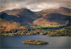 St Herbert's Island - Derwent. (urfnick) Tags: cumbria nationaltrurst nationalpark thelakes lakedistrict nature outdoors clouds sunrise autumn canon