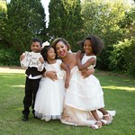 """Andrea with flower girls and ring bearer <a style=""""margin-left:10px; font-size:0.8em;"""" href=""""http://www.flickr.com/photos/124699639@N08/44898328864/"""" target=""""_blank"""">@flickr</a>"""