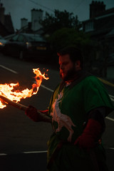 Owain Glyndwr Weekend 2018 (Coed Celyn Photography) Tags: knights knight armour reenactment larp medieval re enact harlech castle north wales gwynedd snowdonia eryri cymru cymraeg living history flames fire flame torch torches light lit march parade