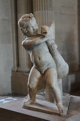 Child With Goose (rachelkidwell93) Tags: statue sculpture art architecture museum paris louvre child france