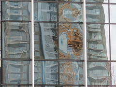 Distortions in New West (Brix5) Tags: distortion glass architecture abstract morph brix5 britishcolumbia newwestminster canong16 building windows reflection anvilcenter