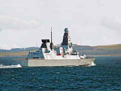 HMS-Daring (norriemacloud) Tags: scotland firthofclyde hmsdaring d32 royal navy