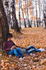 Golden autumn (*Ryuugan*) Tags: iplehouseleonard iplehousegiorgio iplehouse leonard giorgio bjd doll abjd moniquewig