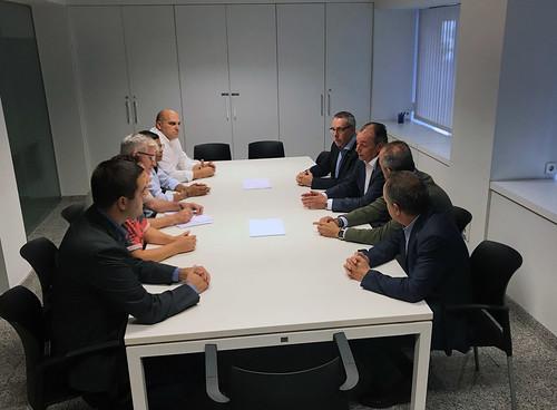 Reunión con representantes sindicales de Alicante