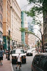 Downtown (jon_bryant) Tags: film kodak kodakportra400 boston bostonma summer canon canonet canoncanonetql17giii canoncanonet 35mm