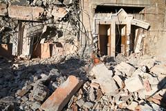 Harsh Last Confession (nitram242) Tags: abandoned church chicago demolition austin stangela westside