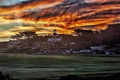 Point Piños Lighthouse Sunrise III sunrays (Daniel Schwabe) Tags: sunrise lighthouse sunrays monterey california usa travel tourism