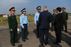 181017-D-BN624-0060 (Secretary of Defense) Tags: ussecretaryofdefensejamesnmattis jamesnmattis jamesmattis jimmattis vietnam dioxin bienhoaairbase