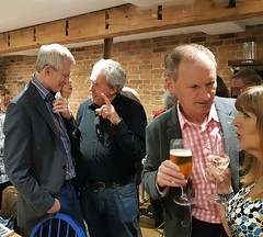 2018 0922 615 (SGS8+) Jeremy Vine, X; Appledore; The Royal George; ABF Friends' VIP Dinner (Lucy Melford) Tags: samsunggalaxys8 appledore book festival friends vip dinner jeremy vine