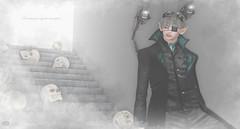Breaking through the atmosphere.. (Rosenrott Blackheart ☾) Tags: 3d expresion expression elven elf edit edition secondlife segundavida gentleman dead moments man dark