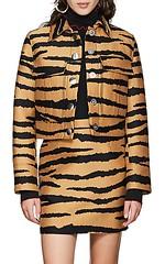 Proenza Schouler Tiger-Pattern Wool-Silk Jacquard Crop Jacket (katalaynet) Tags: follow happy me fun photooftheday beautiful love friends