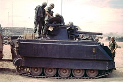 M163 Vulcan 1st Vulcan Combat Team (Jerzy Krzemiński) Tags: m163 vulcan vietnam combat