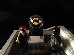 Gotham Under Attack (bricksfreaks) Tags: gotham dc dccomics lego comics custom customminifigures customlego customfigures superheroes supervillains minifigs minifigures bricksfreaks bricks teentitans justiceleague legionofdoom commissionergordon batman batsignal