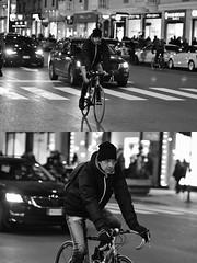[La Mia Città][Pedala] (Urca) Tags: milano italia 2018 bicicletta pedalare ciclista ritrattostradale portrait dittico bike bcycle nikondigitale scéta biancoenero blackandwhite bn bw 115849