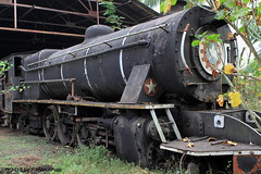 I_B_IMG_0568 (florian_grupp) Tags: asia myanmar burma train railway railroad myanmarailways southeast metergauge metregauge 1000mm steam locomotive scrap yard vulcan foundry pyuntaza