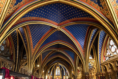 Sainte-Chapelle / Сент-Шапель (dmilokt) Tags: церковь храм собор church chapel kirk cathedral temple sanctuary shrine dmilokt nikon d750 paris париж