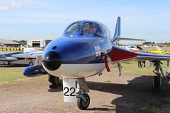 IMG_9635 (routemaster2217) Tags: northweald aviation aeroplane aircraft jetaircraft fighterjet jettrainer trainingaircraft royalnavy rn bz admiralsbarge canfieldhunterltd hawkerhuntert8b rollsroyceavon wv322 gbzse