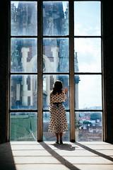 The view (Maks Getty) Tags: travel portrait city light lviv ukraine canon fashion natural girl architecture church urban