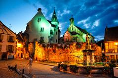 Eguisheim (Valdy71) Tags: eguisheim alsazia alsace france francia travel borgo piazza square valdy nikon