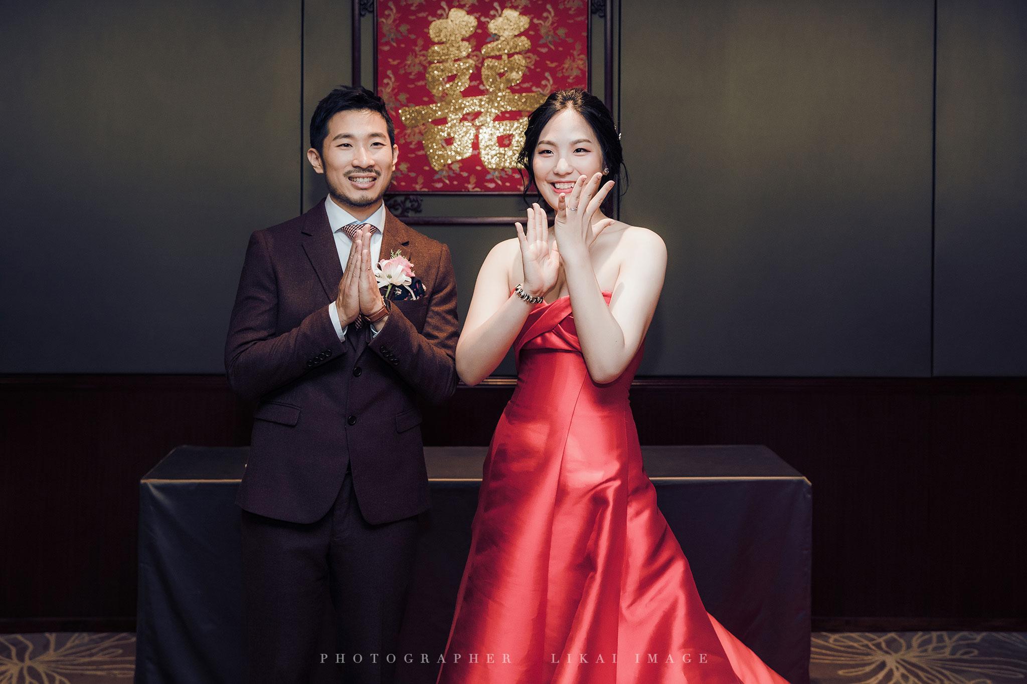 婚禮紀錄 - 佩蓉 & 子豪 - 台北遠企