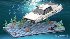 Lotus Esprit S1 Submarine (SpaceBrick) Tags: lego moc studio lotus esprit submarine s1 sea deep 007 james bond movie
