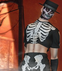 Happy Halloween! (MattNight84) Tags: boystothebone bttb fakeicon nylonoutfitters collabor88 c88 anlar anlarposes locktuft mancave halloween skeleton skull catwa belleza second life sl secondlifefashion secondlifeblogger blogger blog virtualworld virtualfashion virtualmen virtualman avatar avi secondlifemen secondlifeman gay gayboy gayman secondlifegay gaysecondlife secondlifephotography slphotography slblog slblogger secondlifeblog slfashion artificialhallucination ah punch riot spooky