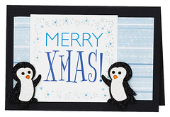 Craft Creations - Charlotte484 (Craft Creations Ltd) Tags: penguins christmas greetingcard craftcreations handmade cardmaking cards craft papercraft