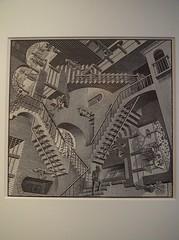 Relativity; M. C. Escher; 1953 (M_Strasser) Tags: olympus olympusomdem1 holland netherlands mcescher escher
