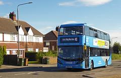 Nottingham City Transport 437 (SRB Photography Edinburgh) Tags: nottingham city transport buses bus sky blue 45 travel uk england