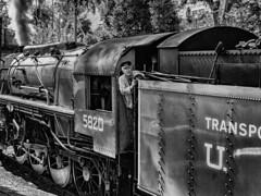 Haworth Staition 2018 September (mtwhitelock) Tags: kwvr bigjim rolling stock mono keighleyandworthvalleyrailway 1945 worldwarii usatc yanks enginedriver