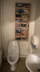 Toalett för läsglada (Linzen004) Tags: stockholmsuniversitet